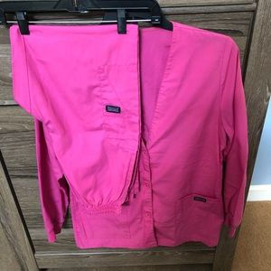 Cherokee LS jacket & matching elastic pants SMALL